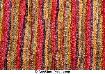 raie, texture, tissu
