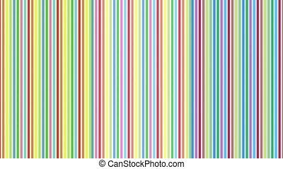 raies, coloré, infini, zoom, résumé, video.