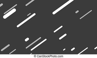 raies, ou, blanc, trending, fond, lignes, animé, gris