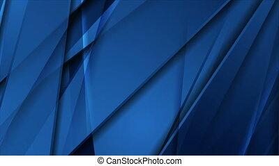 raies, technologie, constitué, mouvement, lustré, résumé, arrière-plan bleu