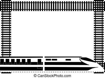 Rail passenger transport - Rail transport and background of...