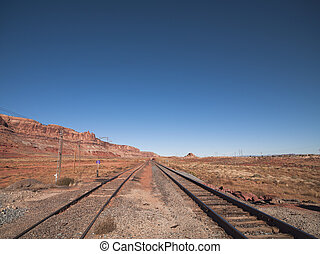 rail road - Rail road in Moab, Utah
