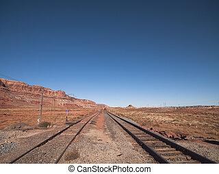 Rail road in Moab, Utah