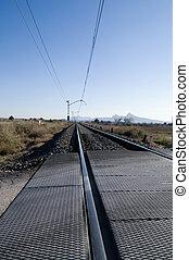 Rail road tracks - Spain