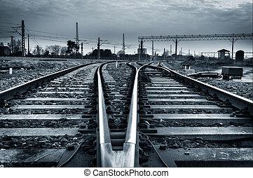 Rail - railway to horizon