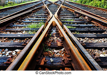 Rail - Close-up close-up shots of the tracks
