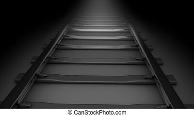 Rail track - Concept animation, Rail tack.