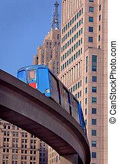 rail, transit, détroit