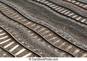 Rail travel delays due to deffective train track