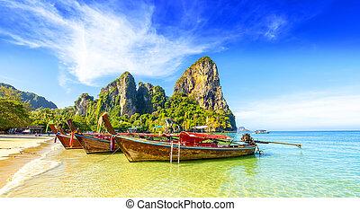 Railay West Beach in Thailand