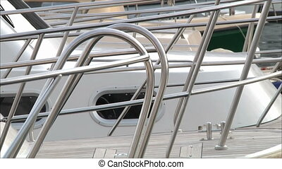 railing on a yacht 2