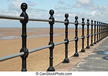 railings, spiaggia