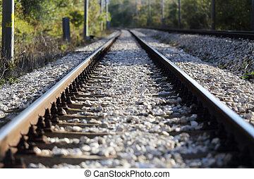 railroad útvonal, kilátás