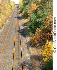 Railroad 1 - Railroad, view from the bridge