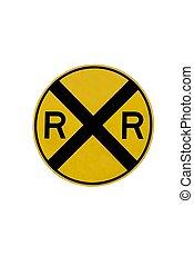 railroad crossing sign georgia