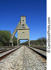 Railroad loading facility