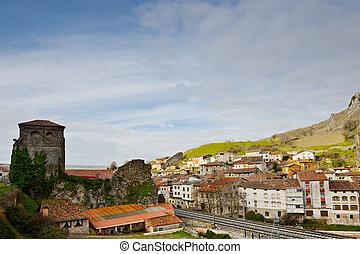 Railroad - The Railroad Passes through the Medieval Spanish...