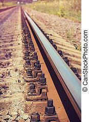 railroad rail