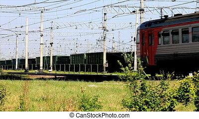 Railroad passenger train
