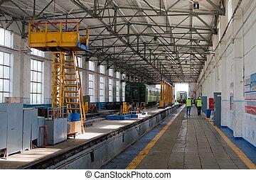 railroad raktár