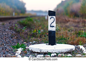 railroad sign day