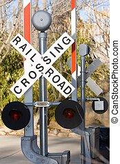 railroad sign - railroad crossing signs