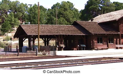 Railroad Station - Grand Canyon Railroad Station