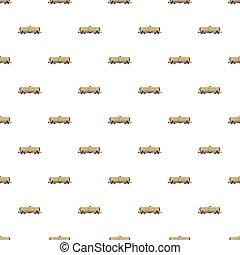 Railroad tank pattern