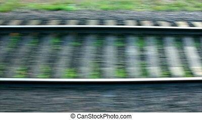 Railroad track (Full HD)