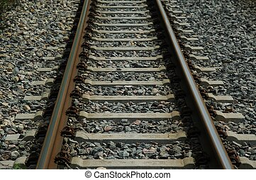 Railroad Track - Narrow gauge railroad track