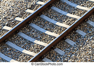 Railroad Track (view from above)