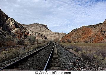 Railroad Tracks in Nevada