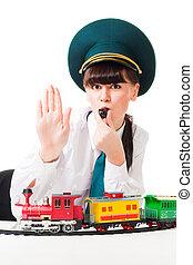 Railroad workers strike