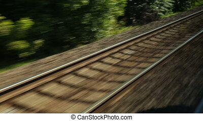 Rails Railway track motion