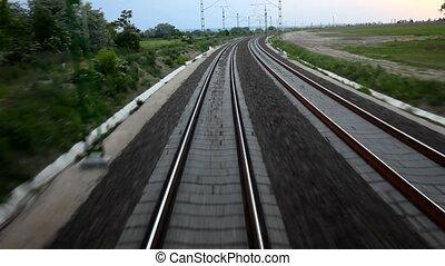 Rails - Train ride