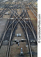 railway arrow near to railway station which is visible from...