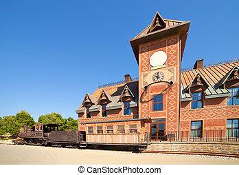 railway  at Far west town