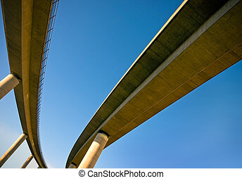 Railway bridge - Elevated railway bridge