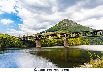 Railway Bridge over Ruzin, Mala Lodina