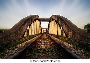 Railway Bridge - The Pulau Indah Expressway, Federal Route...