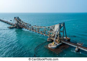 Railway bridge to Rameshwaram