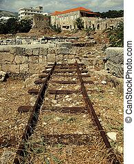 Railway Cut-Off 2 - An abandoned railroad in the Lebanese...