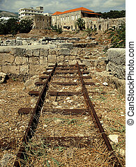 Railway Cut-Off 2 - An abandoned railroad in the Lebanese...