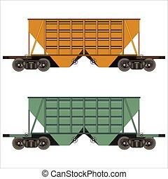 railway freight car