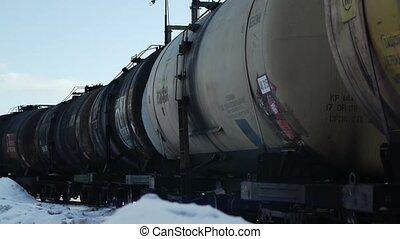 railway gas station