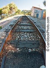 Railway in Corsica
