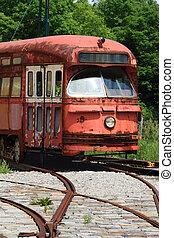 Railway Interurban public transportation, streetcar, tram...