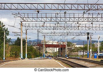 Railway platform