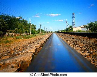 railway rail