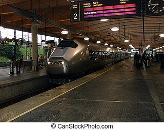 Railway station - Gardemoen railway station, norway